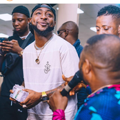 Take A Look At Davido And Yinka Ayefele During A Performance In Ogun State