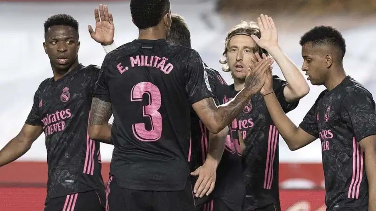 La Liga: Real Madrid Blow Away Granada To Keep Pressure On Atletico Madrid