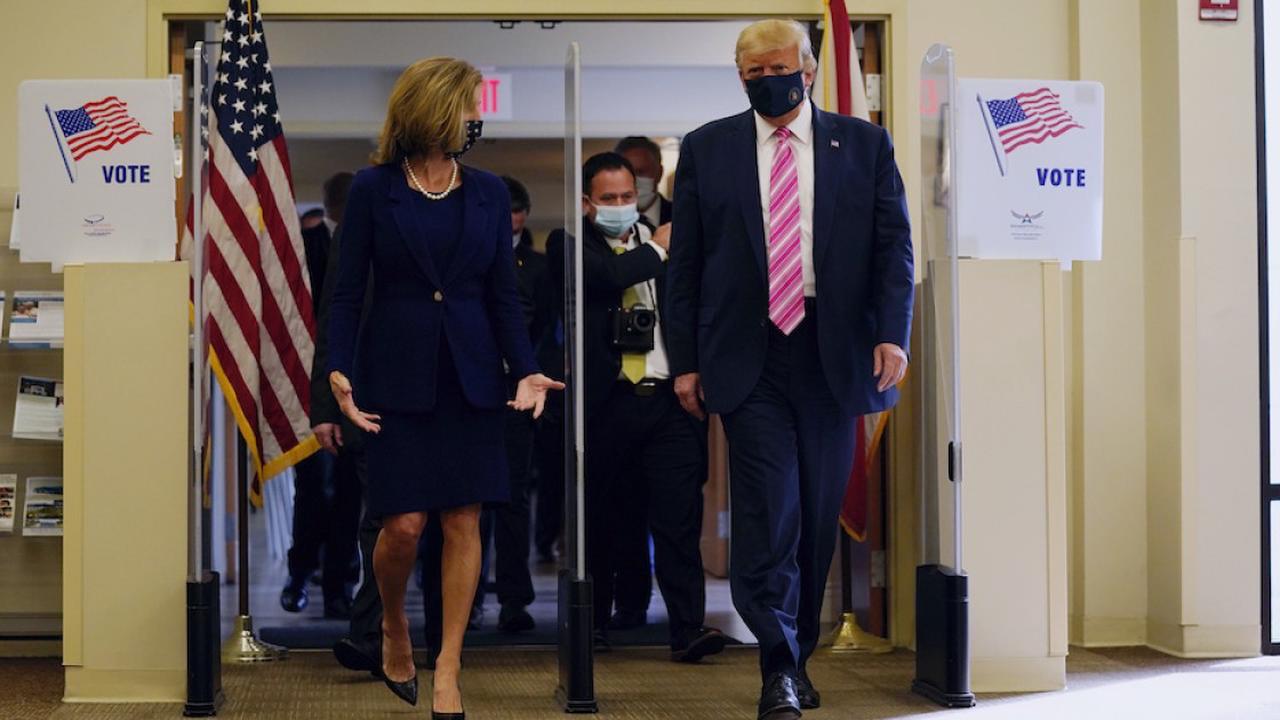President Donald Trump will vote early in Florida - Kansas City, Missouri